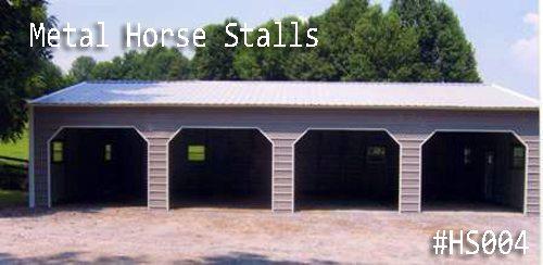 Metal Horse Stalls