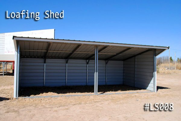 Metal Loafing Shed