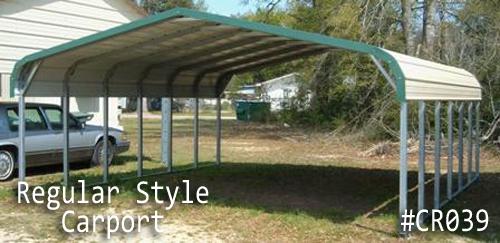 Regular Metal Carport