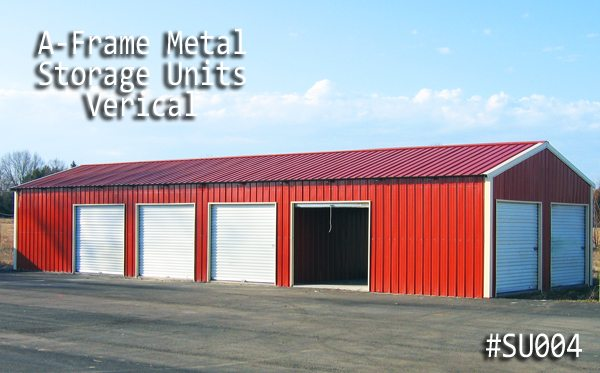 Metal Storage Complex Building