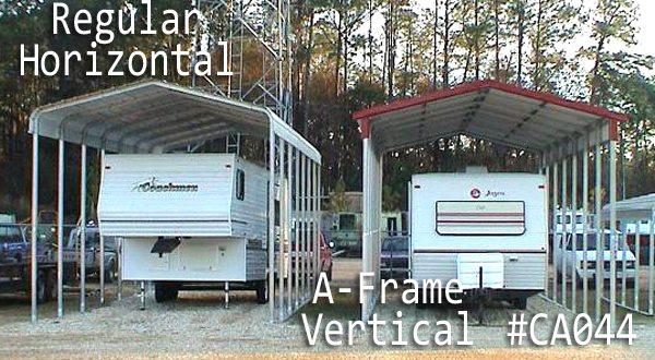 A-frame Vertical Carport Cover