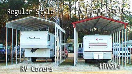 Camper Garage Storage Building