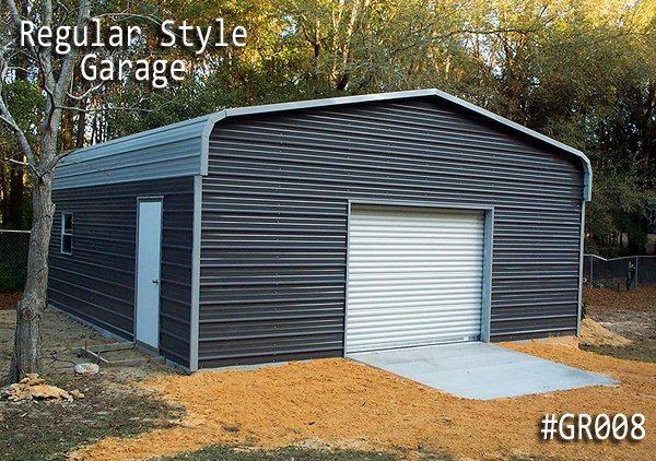Regular Roof Style Garage