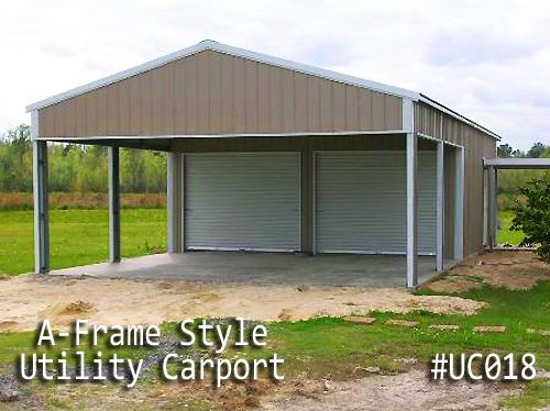 Metal Utility Carport