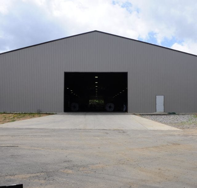 100x250x16 Enclosed Warehouse