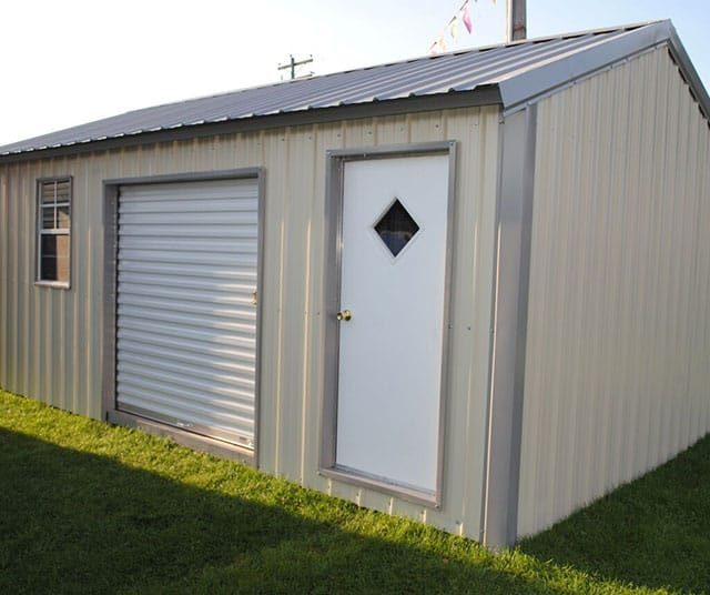 12x20x8 A-frame Storage Garage
