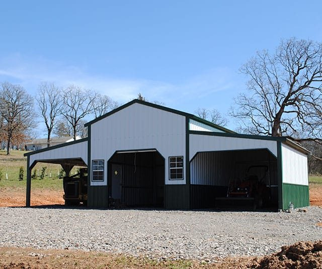36x20x12 A-frame Colonial Barn