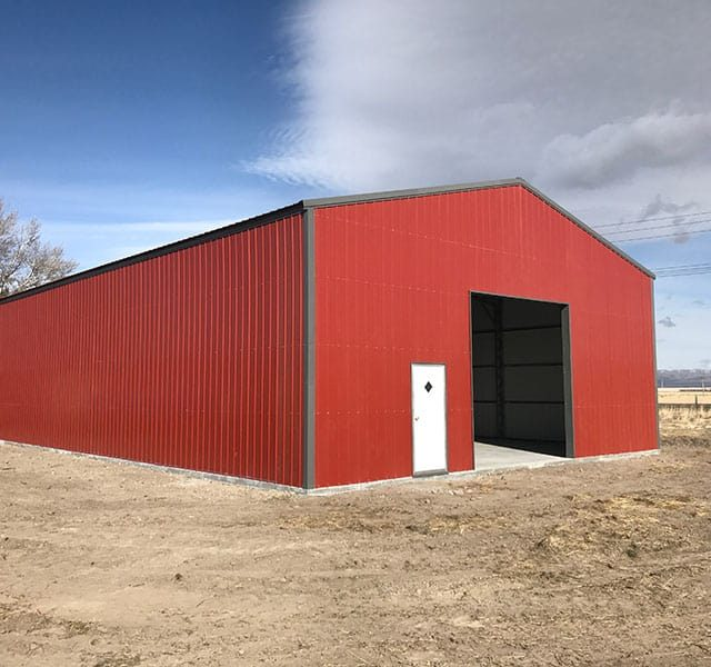 40x60x16 Commercial Garage