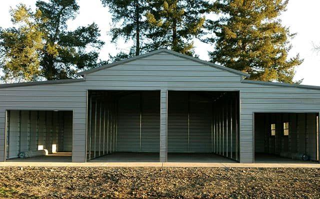 44x40x14 Vertical Roof Barn