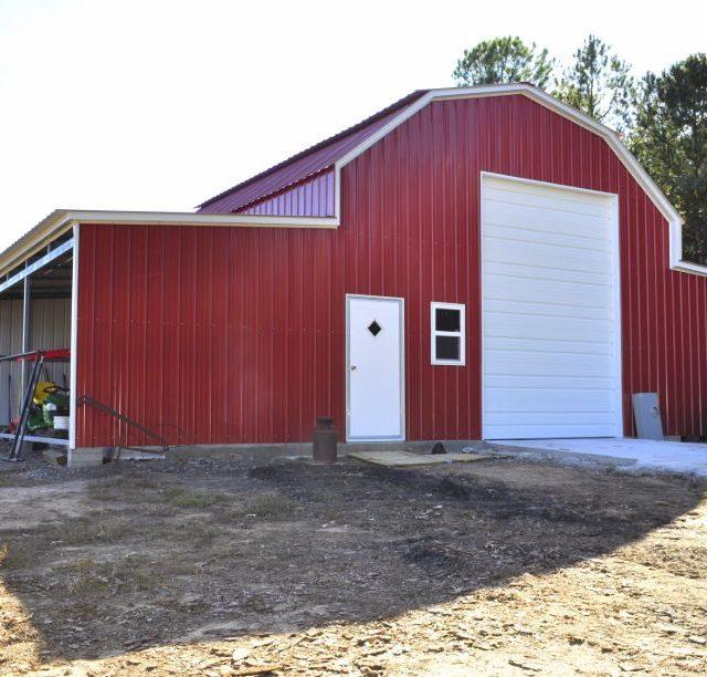 48x30x12 Gambrel Barn