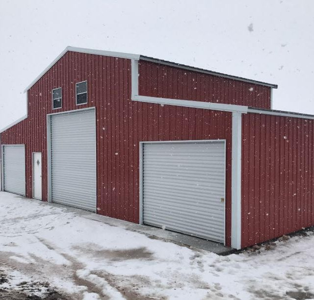 50x25x16 All Vertical Barn