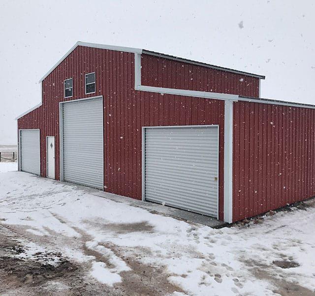50x25x16 All Vertical Barn