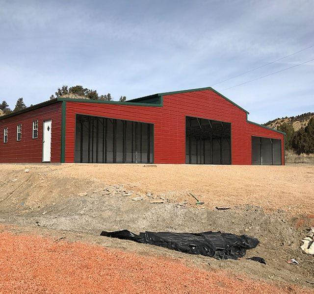 70x30x13 Vertical Roof Barn