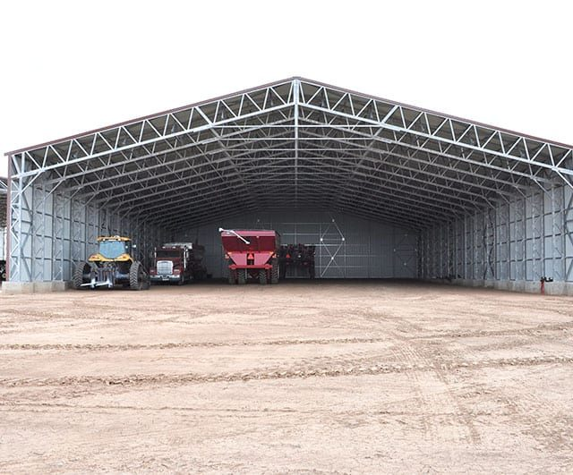 90x140x16 Commercial Clear Span