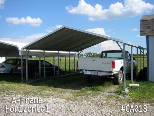 A-Frame Horizontal Carport