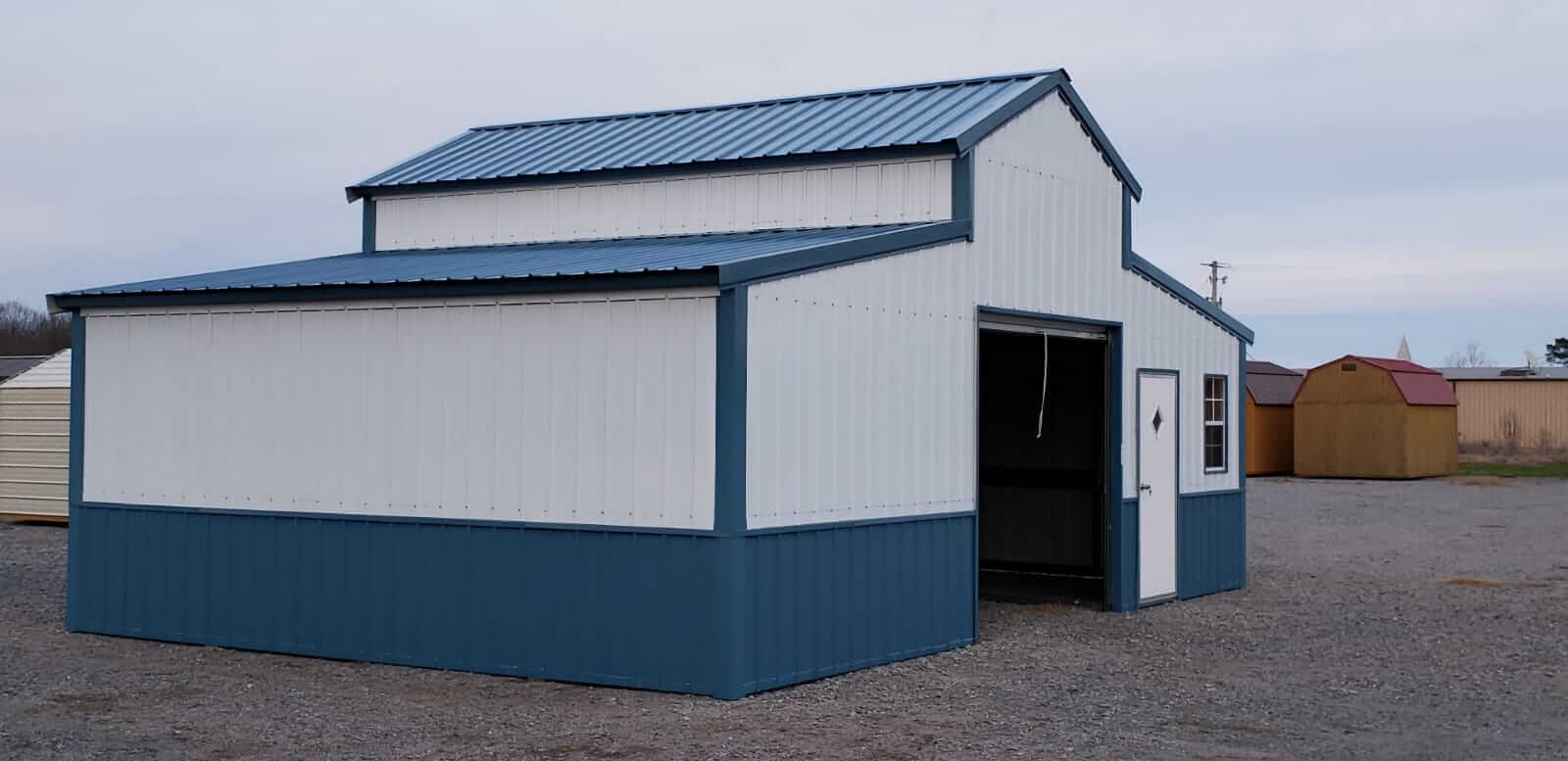 Metal Barn Kits >> Steel Barns Barns For Sale Metal Barn Kits At Lowest Prices