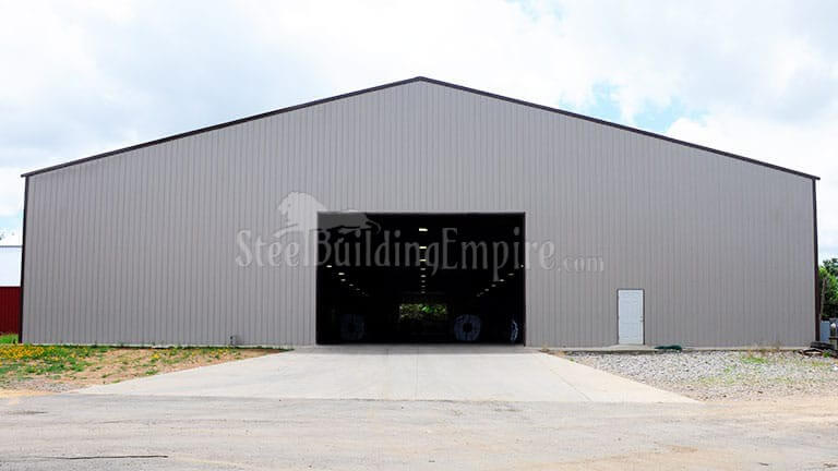 100×250 Metal Warehouse Building