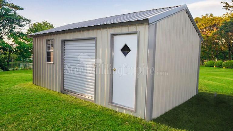12×20 Metal Storage Building