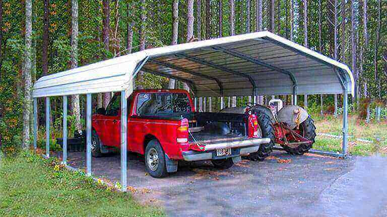 12×26 Regular Style Carport