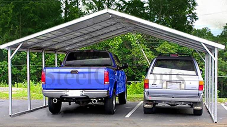 18x26 Aframe Horizontal Carport