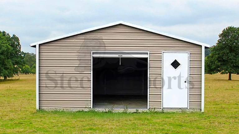 18×26 Aframe Horizontal Roof Garage