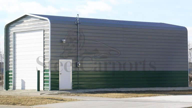 18×40 Regular Style Steel Garage