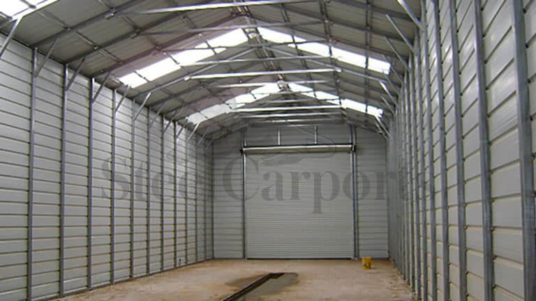 20×80 A-Frame Steel Garage