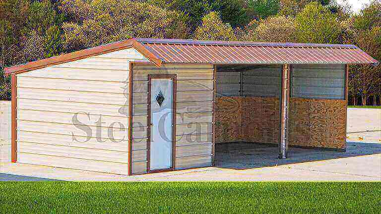 26×12 Loafing Shed
