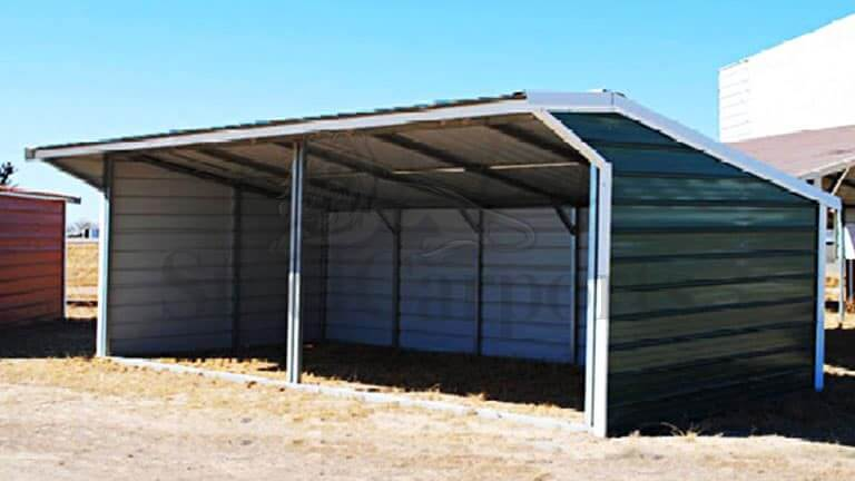 26×12 Metal Loafing Shed