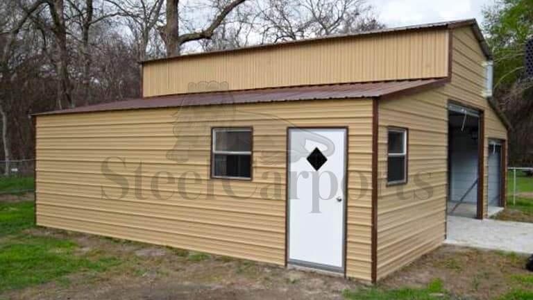 30×30 Fully Enclosed Vertical Barn