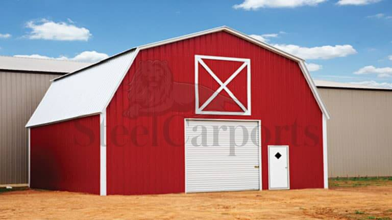 30×30 Gambrel Barn