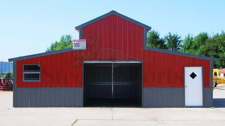 32×30 Colonial Barn Building