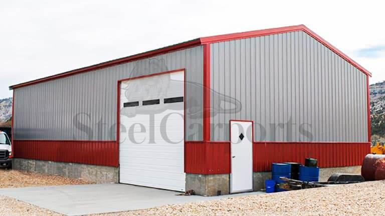 34×40 Metal Shop Building