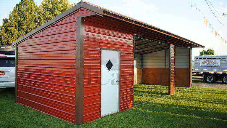 36×15 Loafing Shed