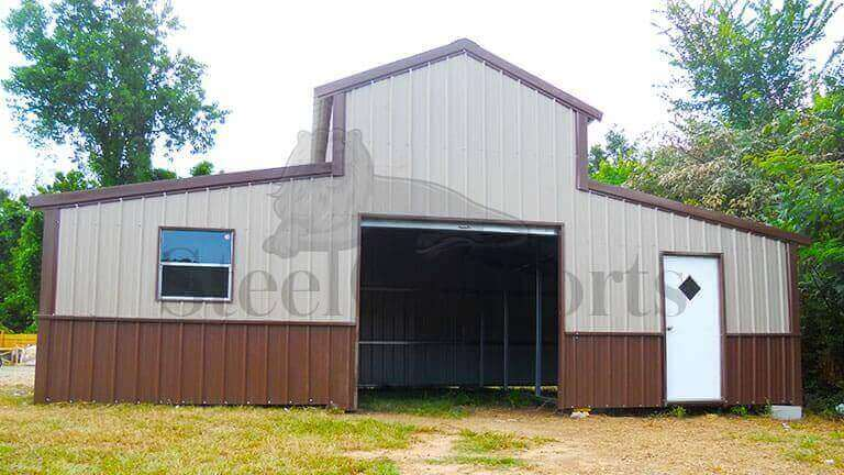 36×25 Colonial Barn Building