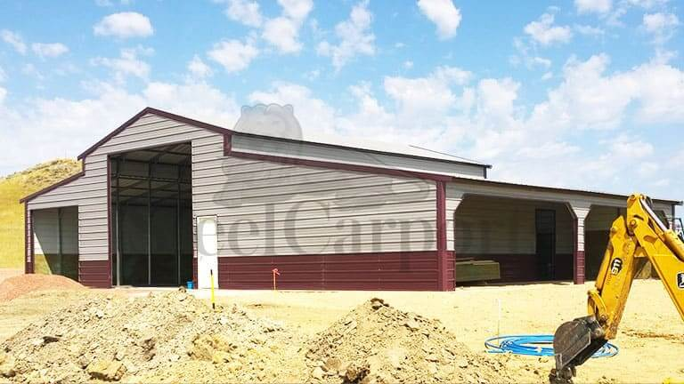 44×30 Vertical Style Barn Building