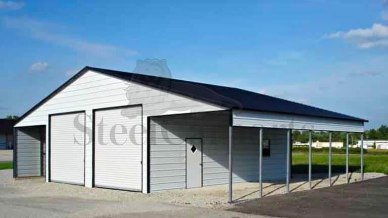 48×30 Vertical Straight Roof Barn
