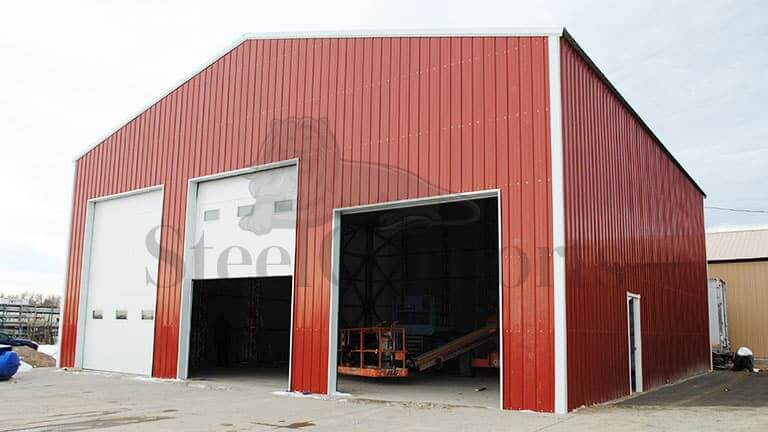 50×50 Metal Workshop Building