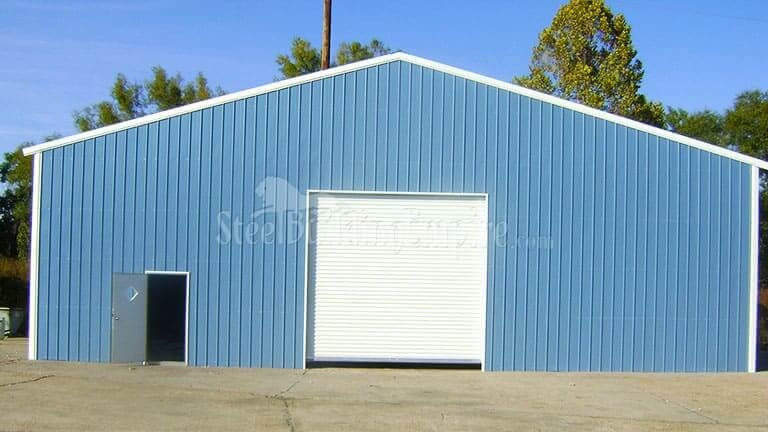 60×50 Fully Enclosed Warehouse Building