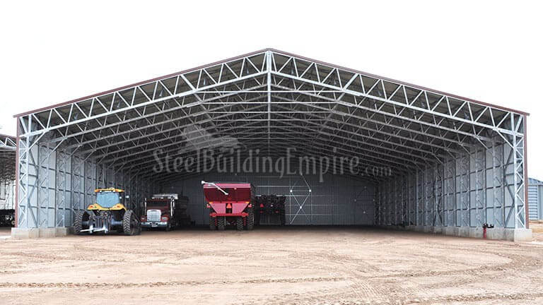 90×140 All Vertical Clear Span Building