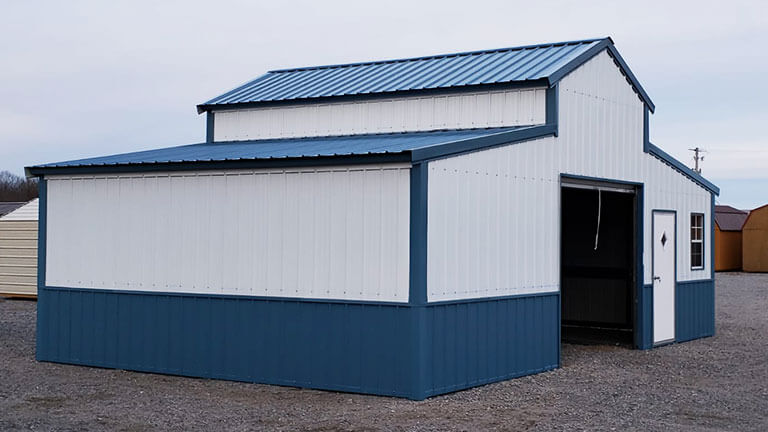 A-Frame Steel Barns