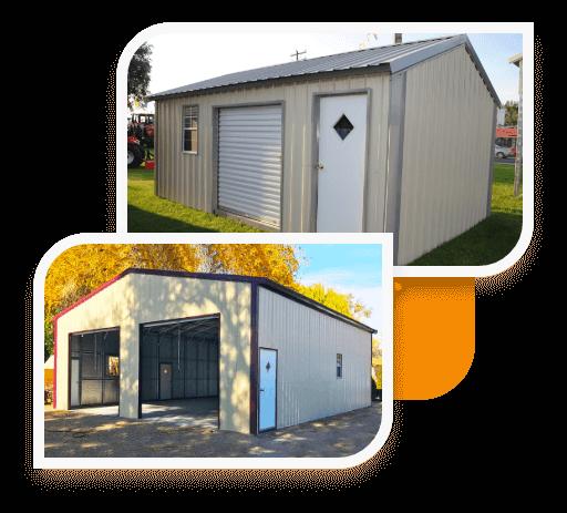 Vertical Roof Garages