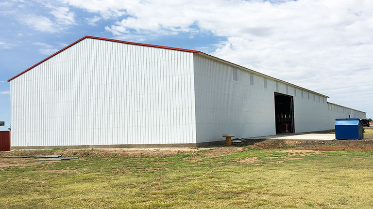Commercial Metal Building-Structure
