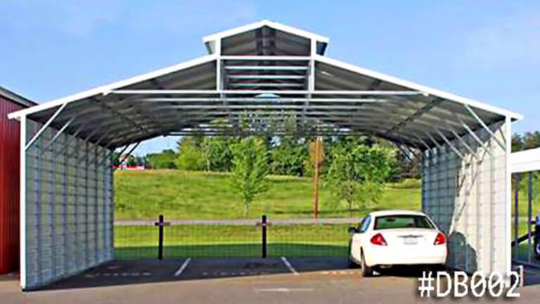 Deluxe Steel Carport Canope
