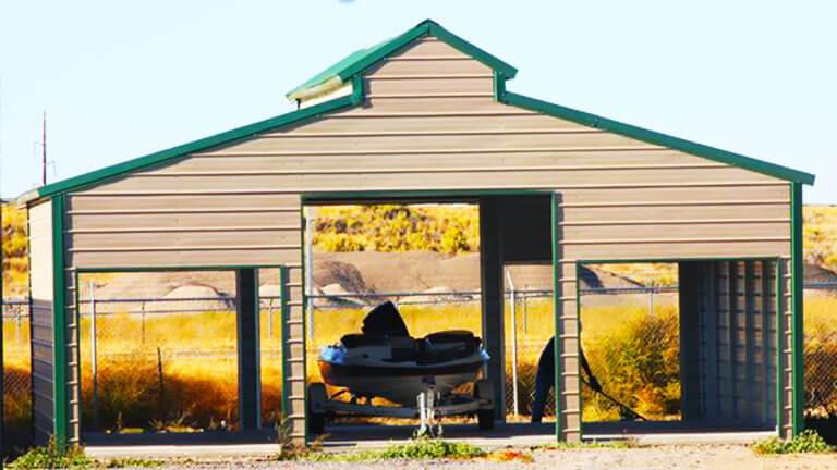 Prefab Deluxe Steel Carport
