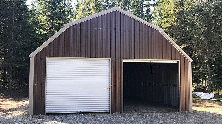 Steel Gambrel Barns