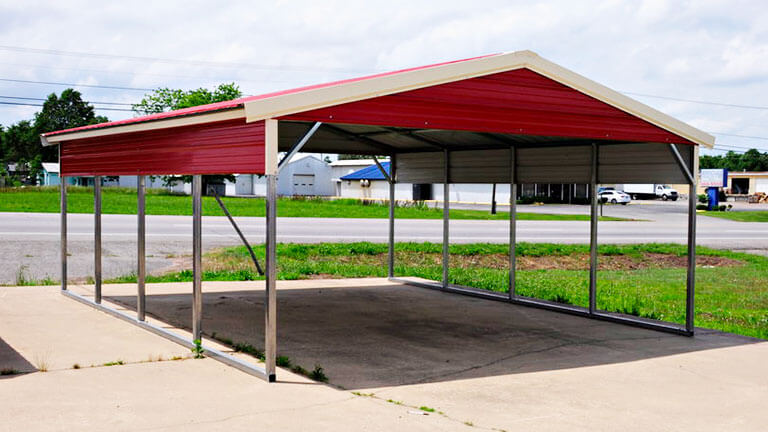 Vertical Roof Carports