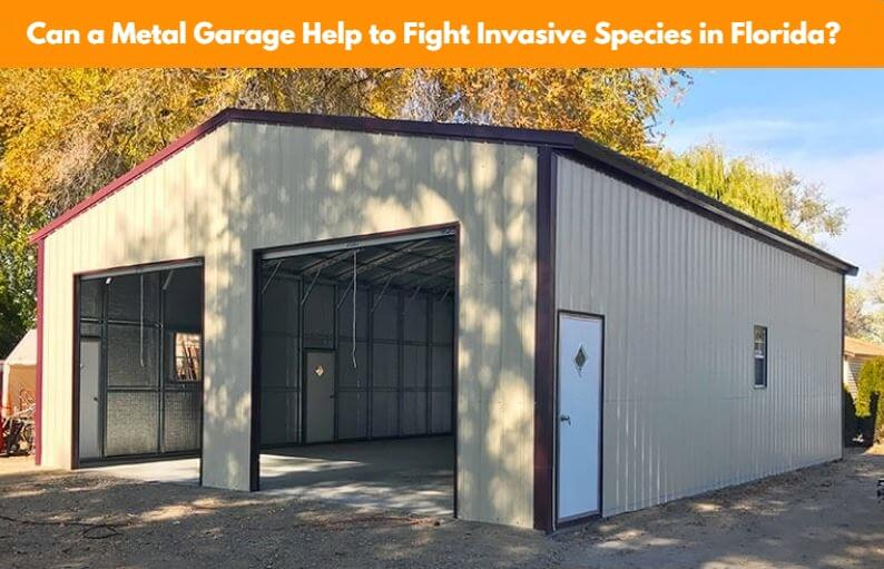 Can a Metal Garage Help to Fight Invasive Species in Florida?